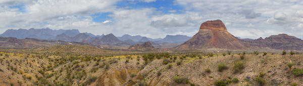 Chisos Mountains Photograph - Western Slope Of The Chisos Mountains - Big Bend National Park by Rob Greebon