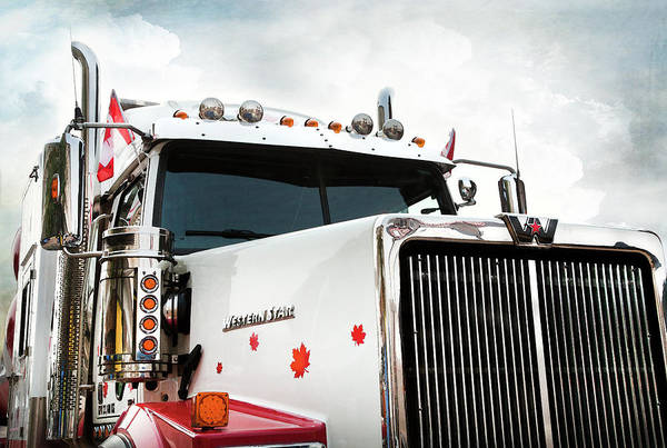 Photograph - Western Star Out Of Canada by Theresa Tahara