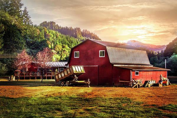 Photograph - Western Sunset by Debra and Dave Vanderlaan