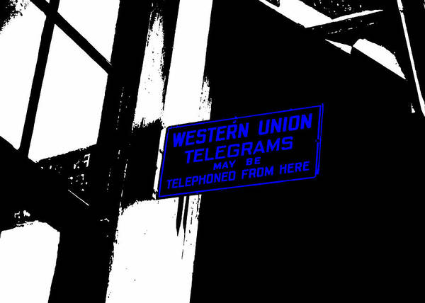 Photograph - Western Union Telegrams by Nathan Little