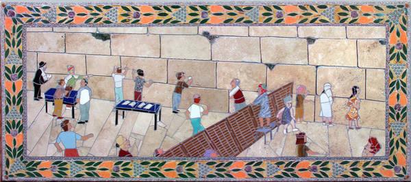 Judaica Digital Art - Western Wall by Jonathan Mandell