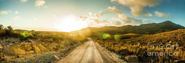 Sunbeam Photograph - Western Way by Jorgo Photography - Wall Art Gallery