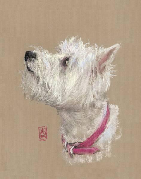 West Highland Painting - Westie Profile by Debra Jones