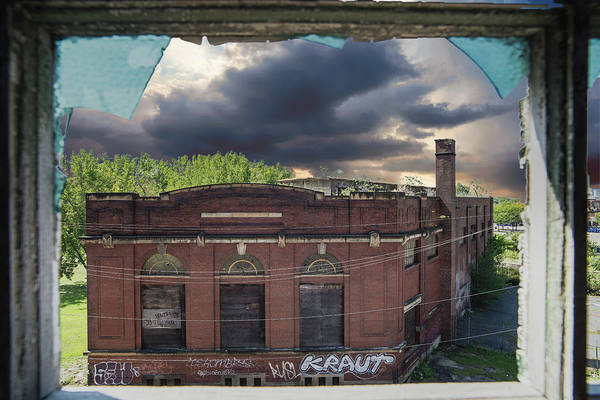 Photograph - Westinghouse In A Storm by Lindy Grasser
