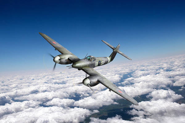 Photograph - Westland Whirlwind Portrait by Gary Eason