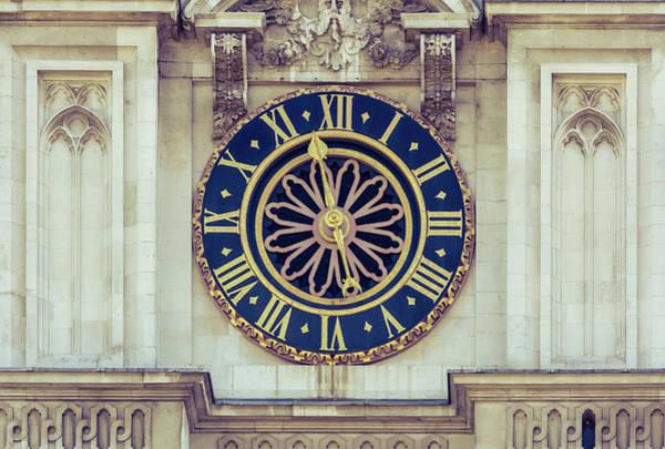 Photograph - Westminster Abbey Clock by Jacek Wojnarowski