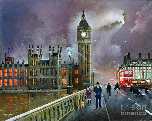Painting - Westminster Bridge by Ken Wood