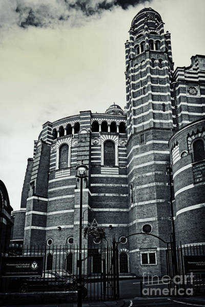 Photograph - Westminster Cathedral 02 Sw by Angela Doelling AD DESIGN Photo and PhotoArt