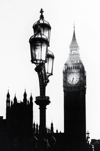 Light Photograph - Westminster - London by Joana Kruse