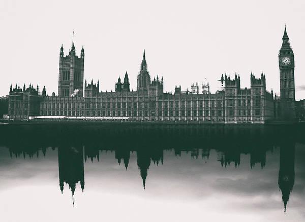 Wall Art - Photograph - Westminster Reflection by Martin Newman