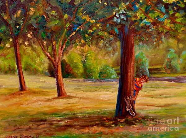 Painting - Westmount Park Montreal by Carole Spandau