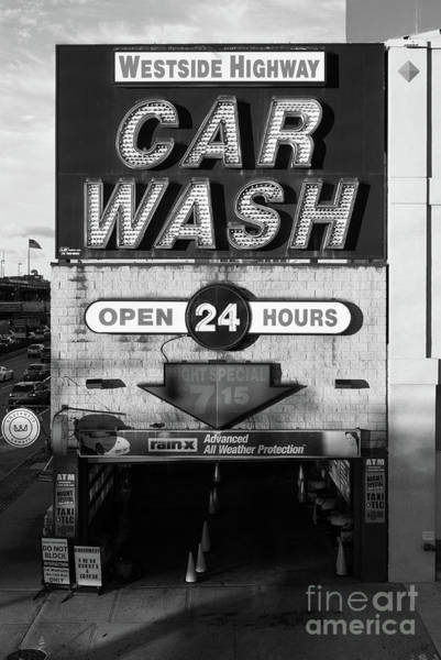 Car Wash Photograph - Westside Highway Car Wash Nyc by Edward Fielding