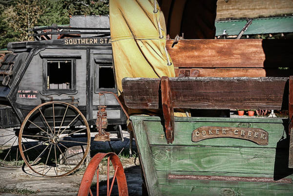 Photograph - Westward Wagons by Patricia Montgomery