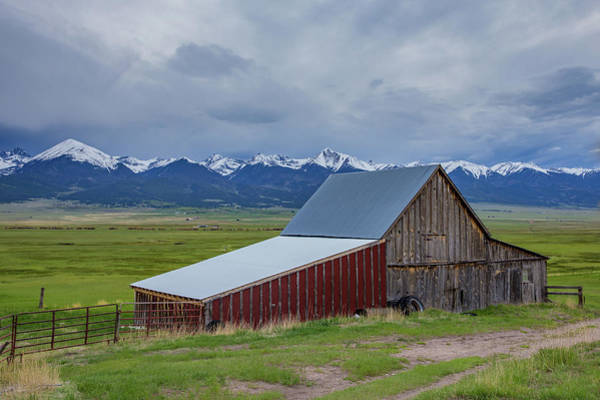 Wall Art - Photograph - Wet Mountain Valley Barn by Bridget Calip