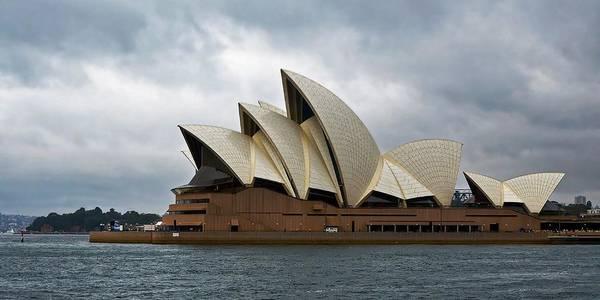 Photograph - Wet Sails - Sydney Opera House by KJ Swan