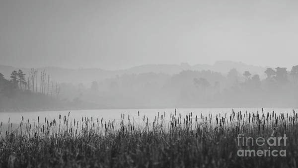The Mac Wall Art - Photograph - Lake Cleone Morning Monochrome by Along The Trail