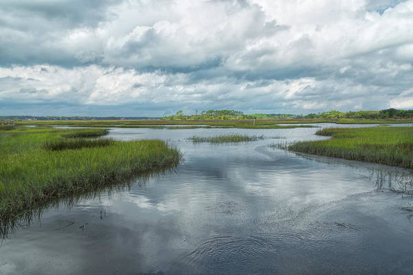 Photograph - Wetland Waterways by John M Bailey