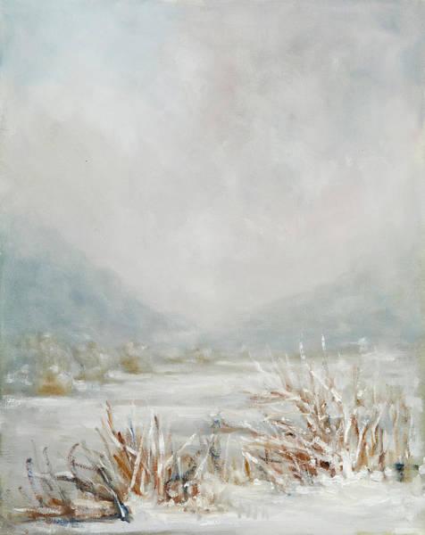 Adirondack Mountains Painting - Wetlands In Snow by Robert James Hacunda