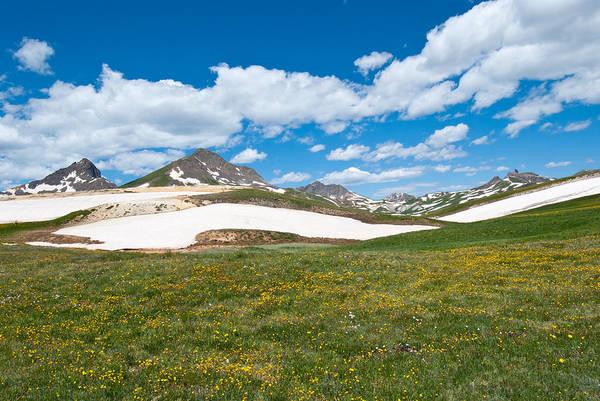 Photograph - Wetterhorn And Matterhorn Summer Landscape by Cascade Colors