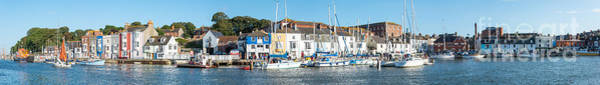 Photograph - Weymouth Harbour Panorama by Colin Rayner