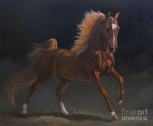 Wall Art - Painting - Wgc Marc Of Charm  by Jeanne Newton Schoborg