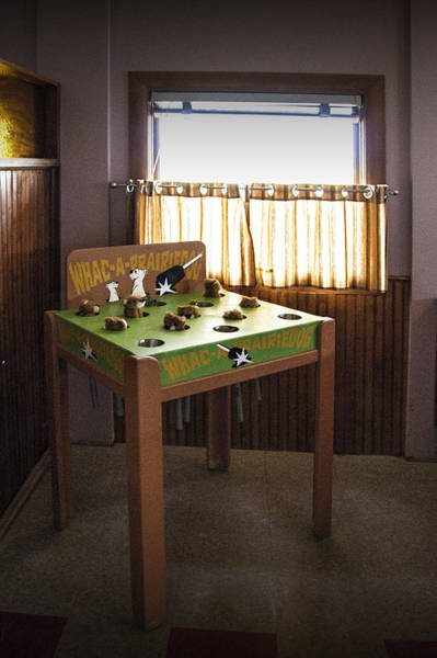 Photograph - Whac A Prairie Dog Game Table by Randall Nyhof