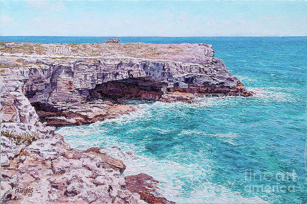 Painting - Whale Point Cliffs by Eddie Minnis