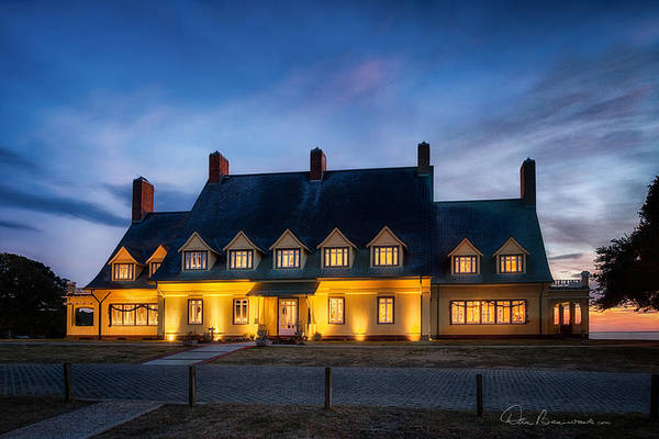 Photograph - Whalehead Club Christmas 2337 by Dan Beauvais