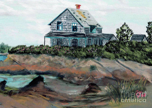 Painting - Whales Of August House by Francois Lamothe