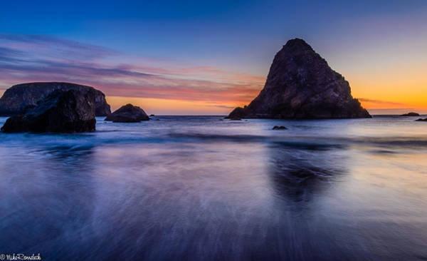 Whaleshead Beach Sunset Art Print