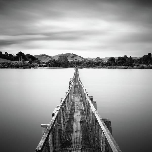 Wall Art - Photograph - Whananaki Bridge by Tim Booth