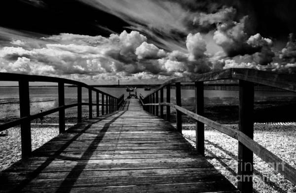 Southend Photograph - Wharf At Southend On Sea by Sheila Smart Fine Art Photography