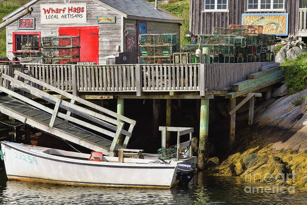 Photograph - Wharf Hags, Peggy's Cove by Tatiana Travelways