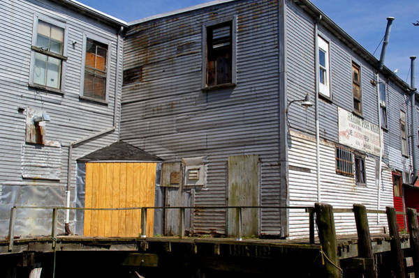 Photograph - Wharf Scene by Lynda Lehmann