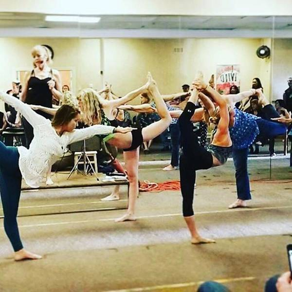 Photograph - What A Blast With All The #yogis And by Melissa Abbott