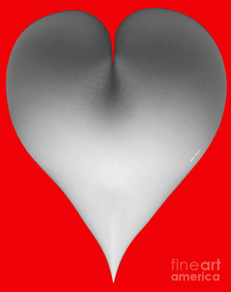 Digital Art - What A Heart  by Rafael Salazar