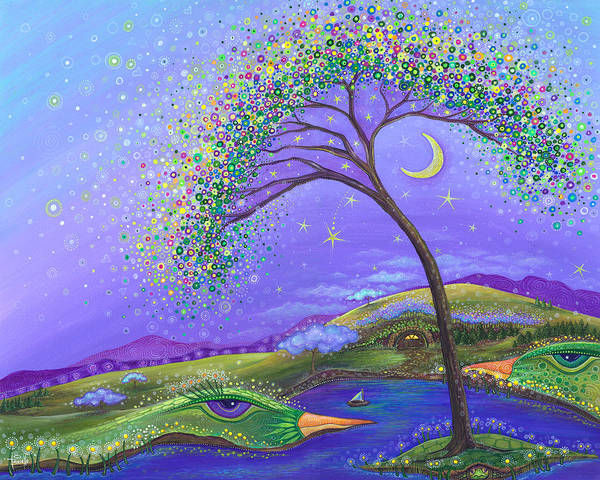 Dreamscape Painting - What A Wonderful World by Tanielle Childers