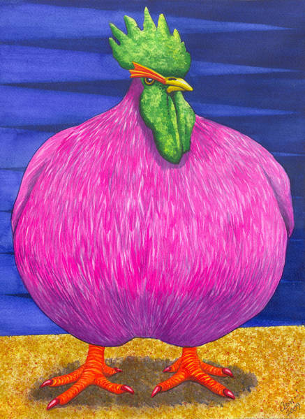 Painting - What Are You Lookin At by Catherine G McElroy
