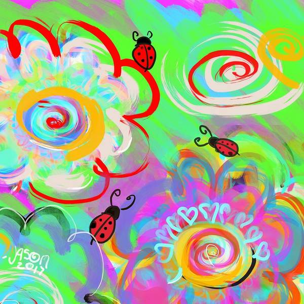 Digital Art - What Bugs Me by Jason Nicholas