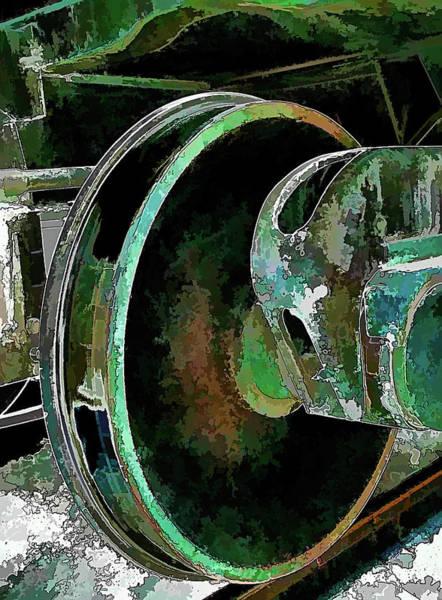 Digital Art - What Lies Beneath 2 by Wendy J St Christopher