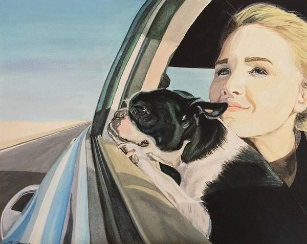 Painting - What Lies Beyond by Sonja Jones