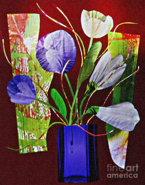 Bright Flowers Mixed Media - What Marie Left Behind by Sarah Loft
