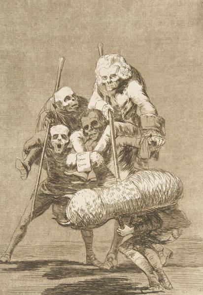 Relief - What One Does To Another by Francisco Goya