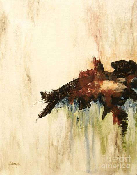 Primal Painting - What Remains by Itaya Lightbourne
