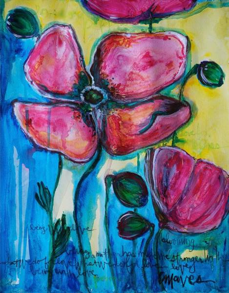 Painting - What We Do For Love by Laurie Maves ART