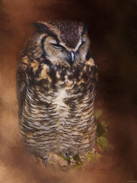 Painting - What You Imagine - Wildlife Art by Jordan Blackstone