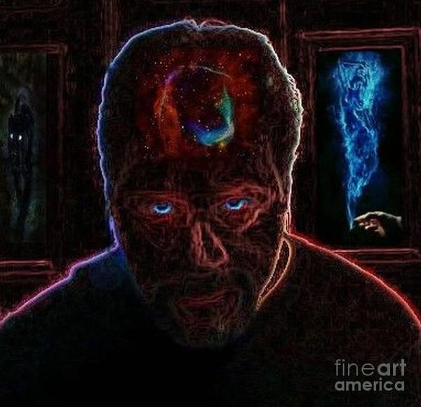 Digital Art - Whatcha Thinkin by David Neace