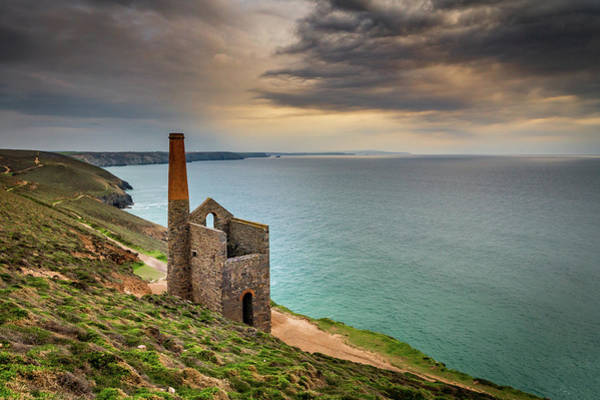 Photograph - Wheal Coates Sunset by Framing Places