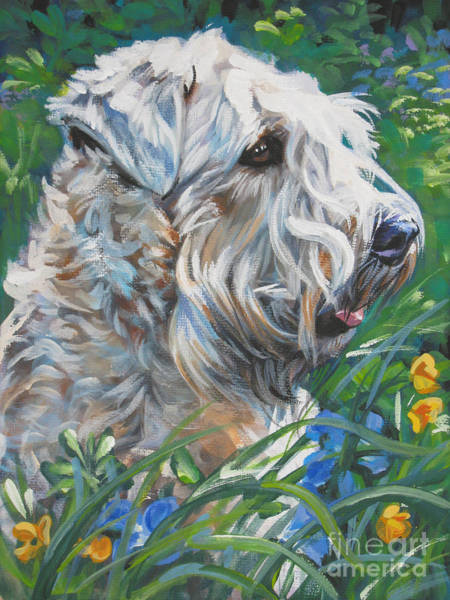 Wall Art - Painting - Wheaten Terrier by Lee Ann Shepard
