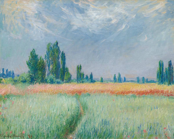 Painting - Wheatfield by Claude Monet